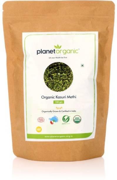 Planet Organic India Organic Kasoori Methi
