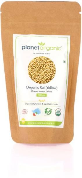 Planet Organic India Organic Mustard Yellow