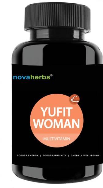 Novaherbs Yufit Woman - Multivitamins, Minerals & Antioxidants Tablets for Women