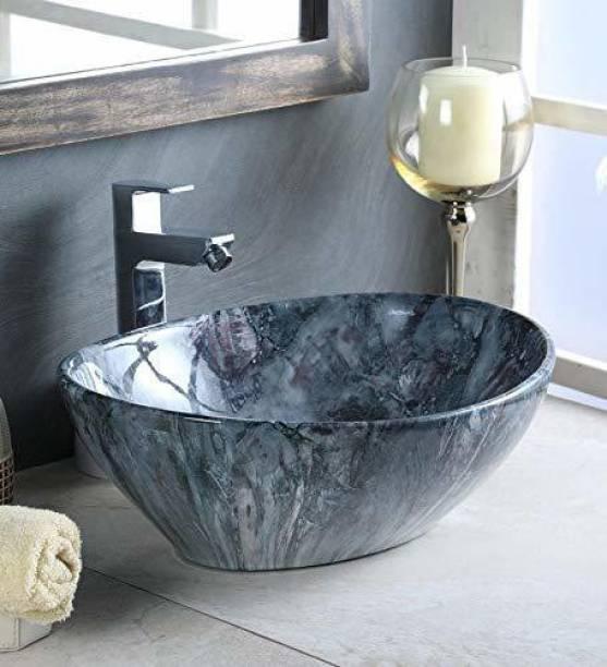 Tap & Tile Premium quality Table Top wash Basin 16.4*13.6*5.8 NC_163 Table Top Basin