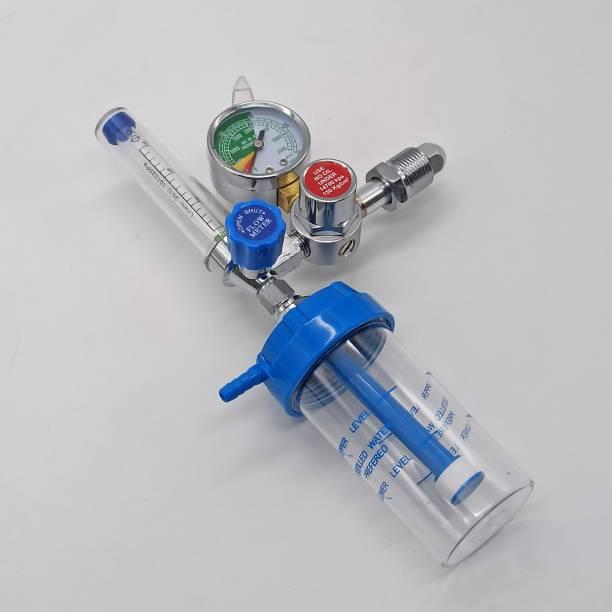 Flowmeter Oxygen Flow meter Adjustment Oxygen Valve with Regulator oxygen flow meter with rotameter and Humidifier Bottle Oxygen Flow Meter with Regulator Oxygen Cylinder