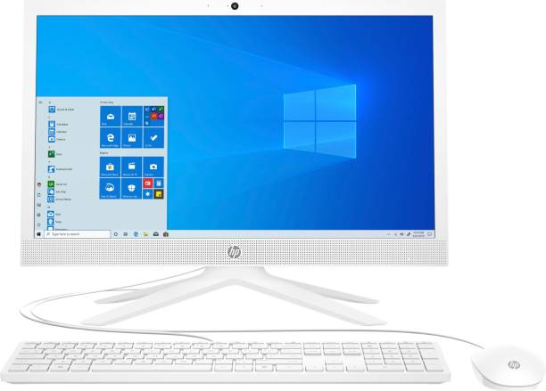 HP All-in-One 21 Celeron Dual Core (4 GB DDR4/1 TB/Windows 10 Home/20.7 Inch Screen/21-b0707in) with MS Office