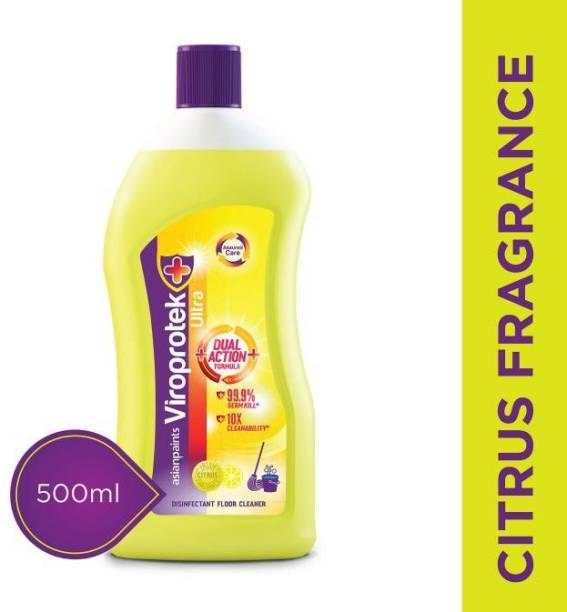 ASIAN PAINTS Viroprotek Ultra citrus Disinfectant Floor Cleaner Citrus