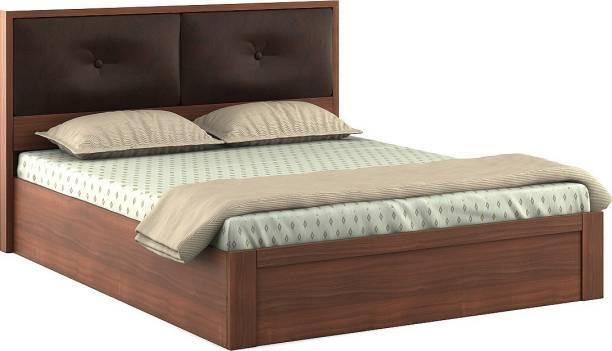 SPACEWOOD Engineered Wood King Drawer Bed