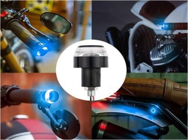 DvineAutoFashionZ LED Indicator Light for Activa 5G(Blue, White)_HLBLU244 Bike Handlebar Weights