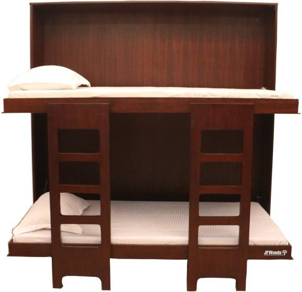 jfwoods Wall Bed Solid Wood Bunk Bed