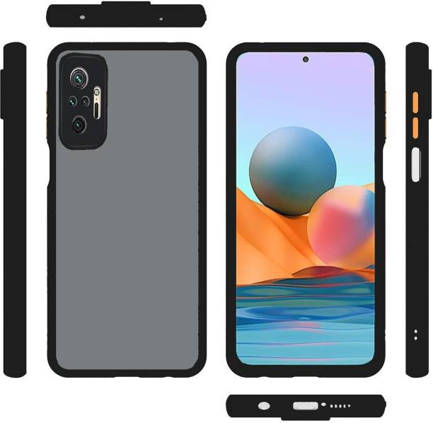 DHAN GTB Back Cover for Redmi Note 10 Pro Max (6.67 inch),Smoke Frosted matte finish Back case with camera protection