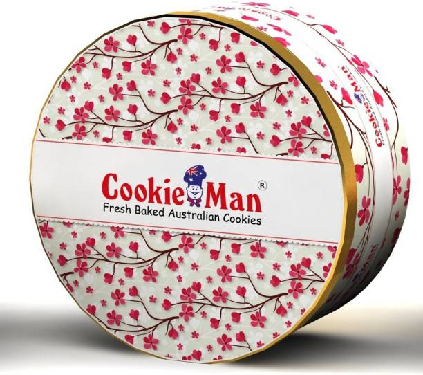 Cookieman Double Choc Chip - Small Tin Cookies