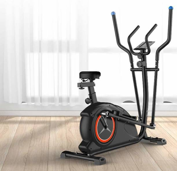 IRIS Fitness Adjustable Ellipse Trainer with 8 Levels of Resistance Cross Trainer