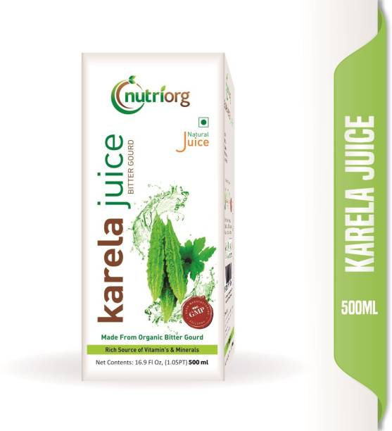 Nutriorg Karela Juice 500 ml.