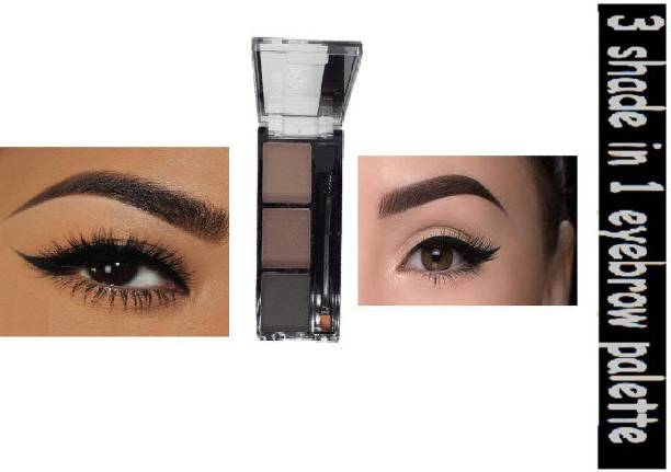 KYRE Handy, purse friendly compressed Perfect shape eyebrow palette 39 g