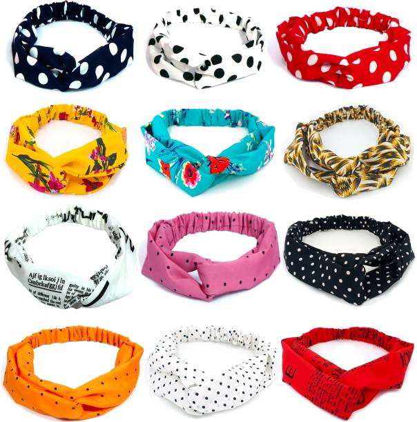 BEATOP Twisted Knot Elastic Hairband Hair Band
