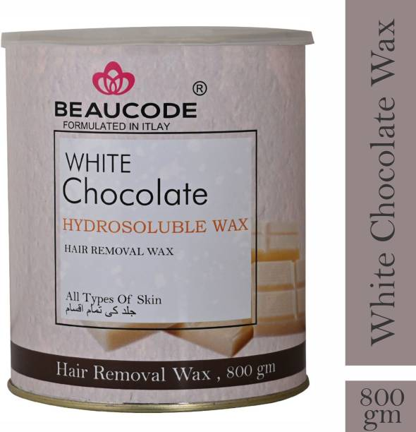 Beaucode Professional Rica White Chocolate Hydrosoluble Wax Body wax for hair removal wax Wax (800 g) Wax