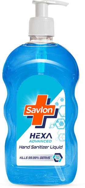 Savlon Hexa Advanced  Liquid Pump Pack  70% Alcohol based with Chlorhexidine Gluconate (CHG)  500ml Hand Sanitizer Pump Dispenser