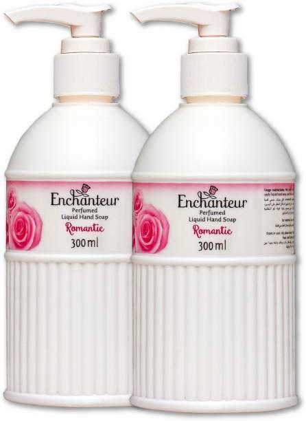 Enchanteur Romantic Perfumed Hand wash Hand Wash Pump Dispenser