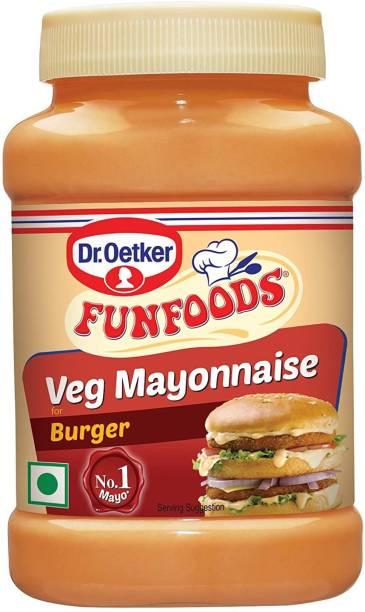 FUN FOODS Veg Mayonnaise Burger 250 Gram 250 g