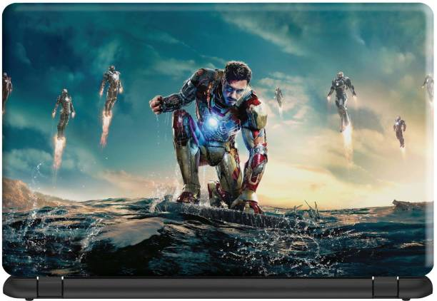 Make Unique Avengers Endgame Character iron Man Laptop Skin Stickers Design LSFD399 Vinyl Laptop Decal 15.6