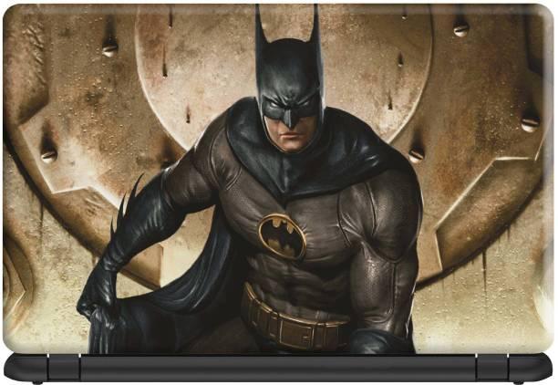 Make Unique Batman Ready to Fighting Laptop Skin Stickers Design SLFDD235 Vinyl Laptop Decal 15.6