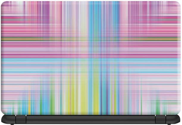 Make Unique Colorful Pattern Artwork Design Laptop Skin Sticker DSFL262 Vinyl Laptop Decal 15.6