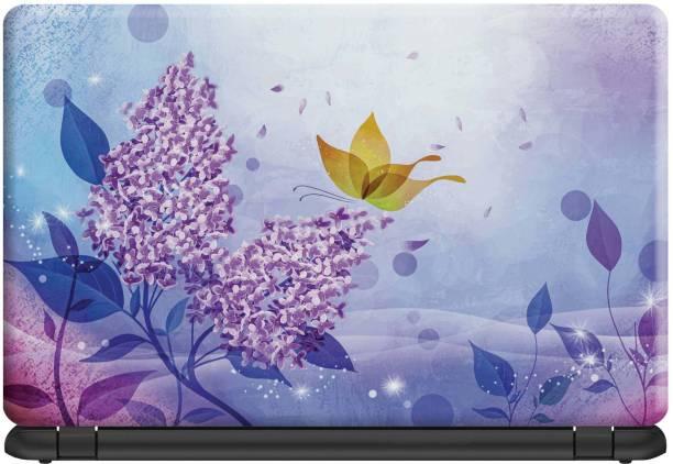Make Unique Beautiful Pattern Creation of Flowers Laptop Skin Stickers Design SLFDD458 Vinyl Laptop Decal 15.6