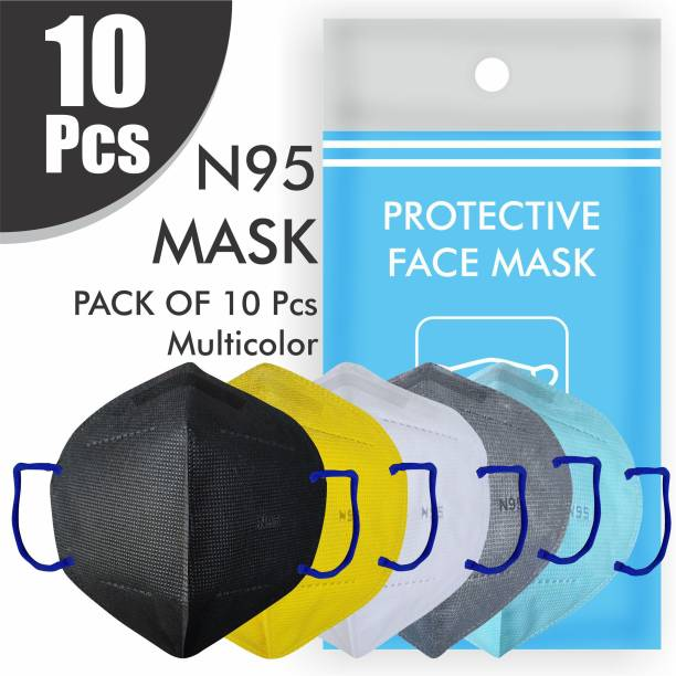 Re REDMOND ENTERPRISE 10PIECE N95 10 UNIT COMBO OF N95 mask Breathable KN95 mask Face Mask Men 5 Layers Protection Water Resistant