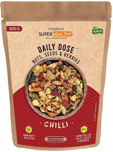 Super Healthy Daily Dose Chilli -200g Assorted Seeds & Nuts