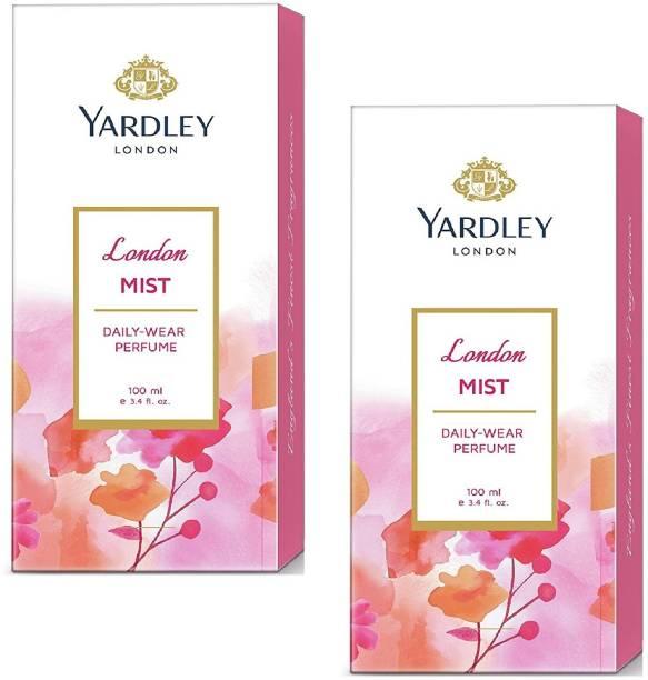 YARDLEY LONDON MIST DAILY WEAR PERFUME 100ML X2 PACK OF 2 Perfume  -  200 ml