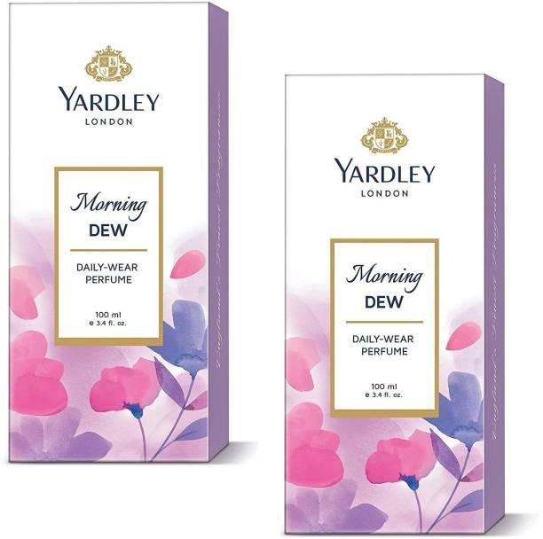YARDLEY MORNING DEW DAILY WEAR PERFUME 100ML X2 PACK 2 Perfume  -  200 ml