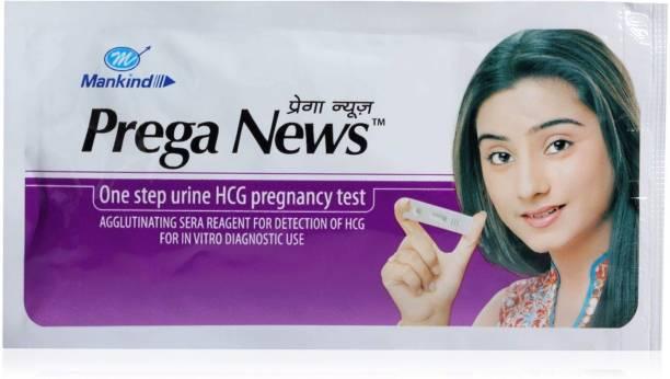 Mankind Prega news combo Pack of 2 Pregnancy Test Kit