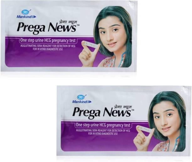 Mankind Prega news combo of 2 Pregnancy Test Kit