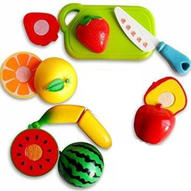 ARONET Sliceable Cutting Play Kitchen Toy