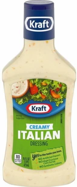 KRAFT Creamy Italian Dressing , 473ml Sauce