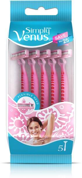 GILLETTE Simply Venus Hair Removal Razor for Women