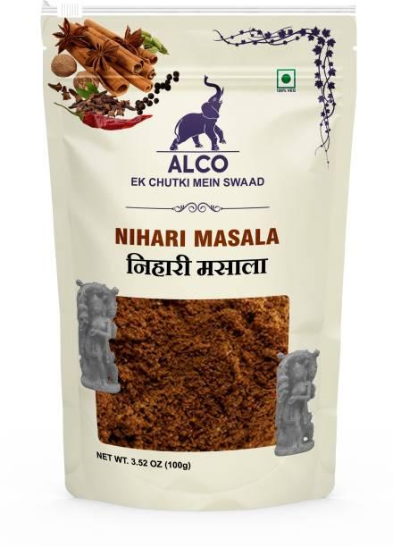 ALCO SPICES Nihari Masala | Made from 100% Vegetarian ingredients, Non-GMO, Gluten Free, Keto Friendly, Dairy Free, Paleo Friendly, Soy Free