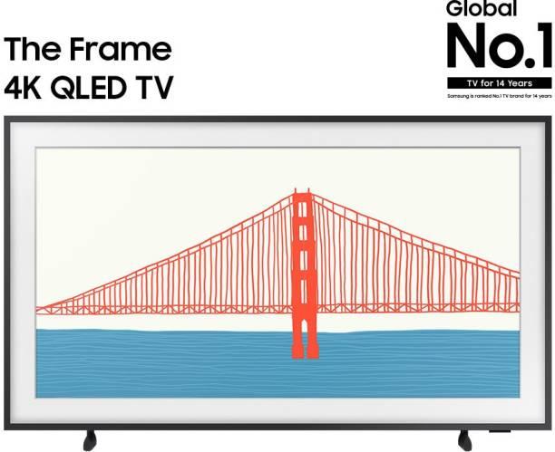 SAMSUNG The Frame 2021 Series 163 cm (65 inch) QLED Ultra HD (4K) Smart TV