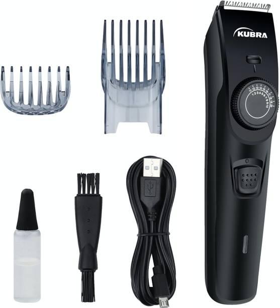 KUBRA KB-1088 40 Length Settings Rechargeable Trimmer  Runtime: 45 min Trimmer for Men