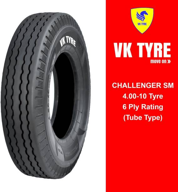 VK TYRE CHALLENGER SM 4.00-10 3 Wheeler Tyre