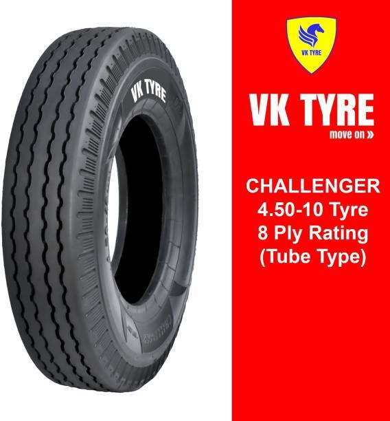 VK TYRE CHALLENGER RIB 4.50-10 3 Wheeler Tyre