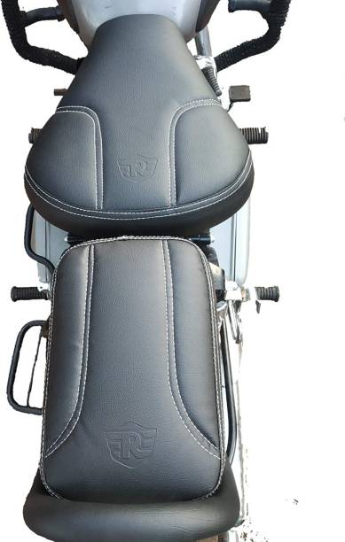 Golden Fox Black Split Seat Cover for Classic 350 /500 Split Bike Seat Cover For Royal Enfield Classic, Classic Chrome, Classic 500