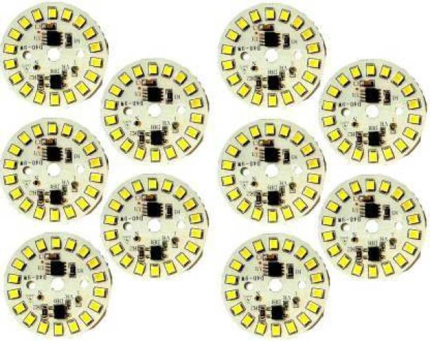 paridhi collections 7 W Round Plug & Play LED Bulb