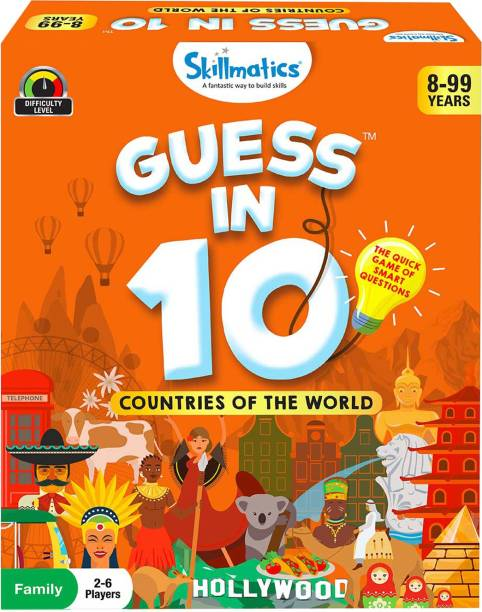 Skillmatics Guess in 10 Countries of the World