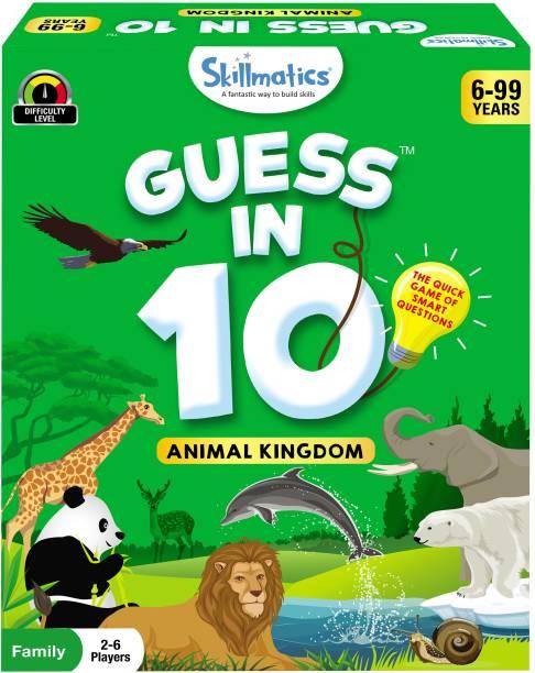 Skillmatics Guess in 10 Animal Kingdom