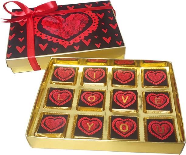 Easycraftz Gift Choco ILU Chocolate Gift Box Bars