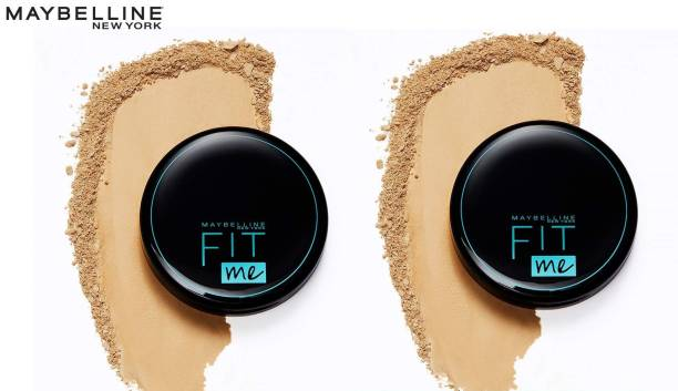 MAYBELLINE NEW YORK FIT ME 230 NATURAL BUFF COMPACT 8G SET OF 2 Compact