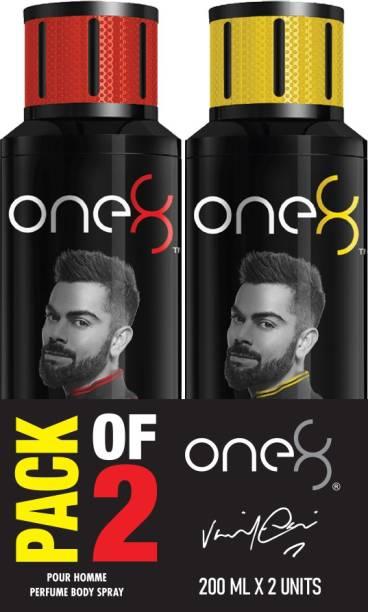 one8 by Virat Kohli Intense + Pure Perfume Body Spray Set - Men Perfume Body Spray  -  For Men