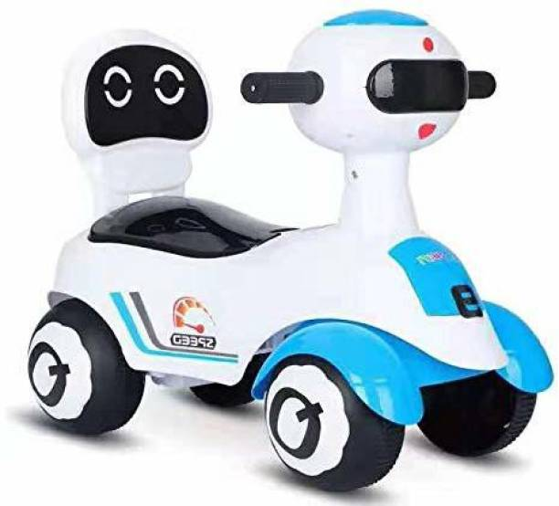 baybee Xtreme Kids Ride On Push Car Toy for Babies-Kids Ride on Toys-Kids Ride On for Children Kids Toy Car Baby Toys 1-5 Years-Twist, Turn, Wiggle for Babies Endless Fun-Kids (Blue) Rideons & Wagons Non Battery Operated Ride On