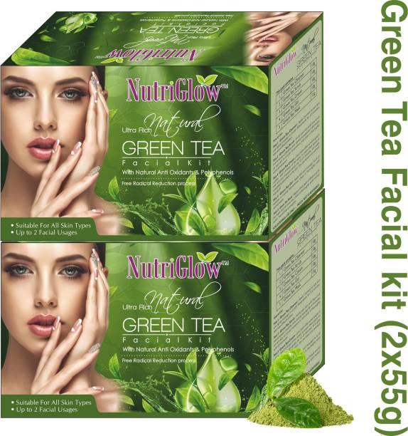 NutriGlow natural green tea facial kit