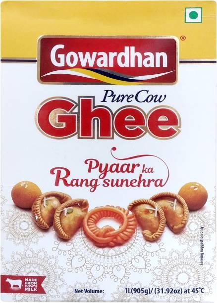 Gowardhan Pure Ghee 1 L Box