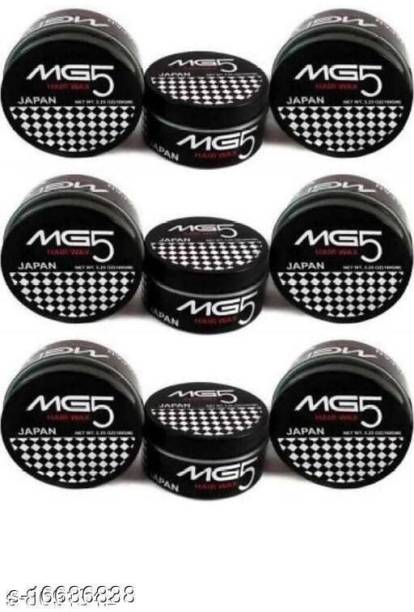 MG5 MEN HAIR WAX COMBO PACK OF 9 ( 900GM ) Hair Wax