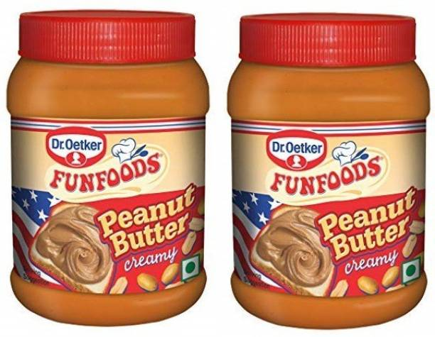 FUN FOODS Peanut Butter Creamy 400 Gram Pack Of 2 800 g